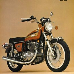 Yamaha TX750: un buen resbalón (y II)